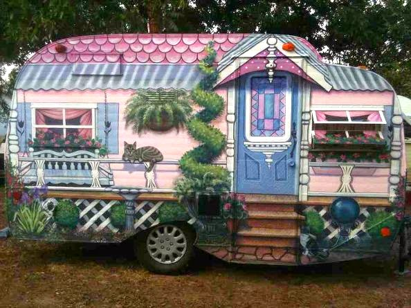 Weird Rvs Trailer Livery Goes Victorian Smokey Camping